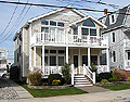 5536 central ave, Ocean city NJ. beachblock. first floor. Four bedrooms, centralair conditioning, off-street parking. Rented weeks are indicated by a minus sign.