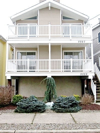 5027 Asbury Ave, Ocean city New Jersey. Rented weeks are indicated by a minus sign.