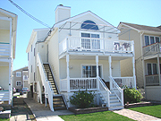 5015 Asbury Ave, Ocean city New Jersey. Rented weeks are indicated by a minus sign.