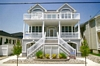 5540 Central Ave, Ocean city NJ. beachblock. first floor. Four bedrooms, central-air conditioning, off-street parking. Rented weeks are indicated by a minus sign.